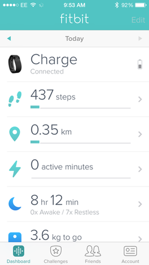how to stop fitbit counting steps when driving