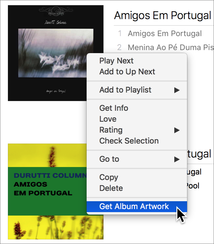 how to download all album artwork itunes