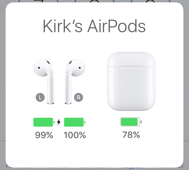 Airpods charge