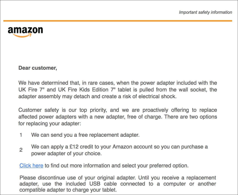 Amazon fire adapter