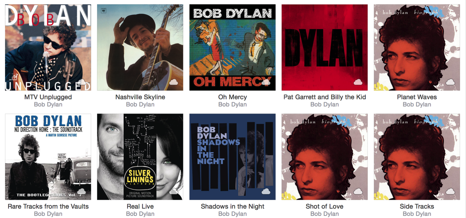 how to delete an album from icloud music library