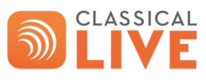 Classical live logo