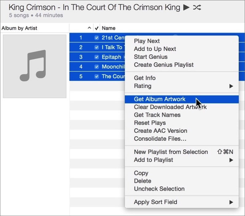 How To: Add Album Artwork to Files in iTunes – Kirkville