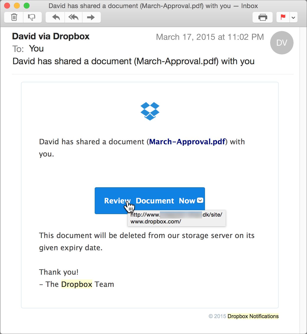 how to open a word document in dropbox