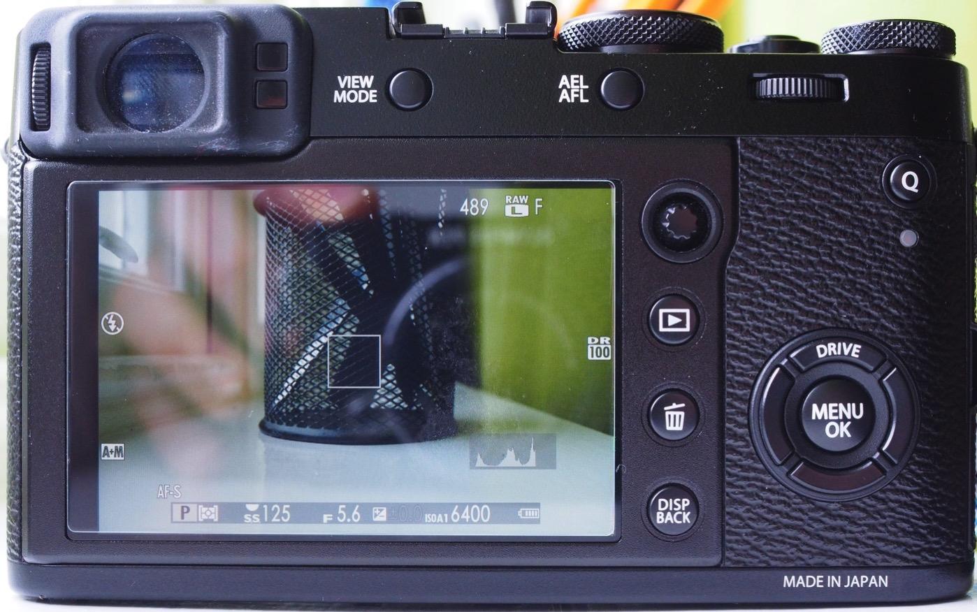 What's really useful with this camera, however, is the fact that you can  press the rear dial to zoom in on your subject, making it easier to see if  you're ...