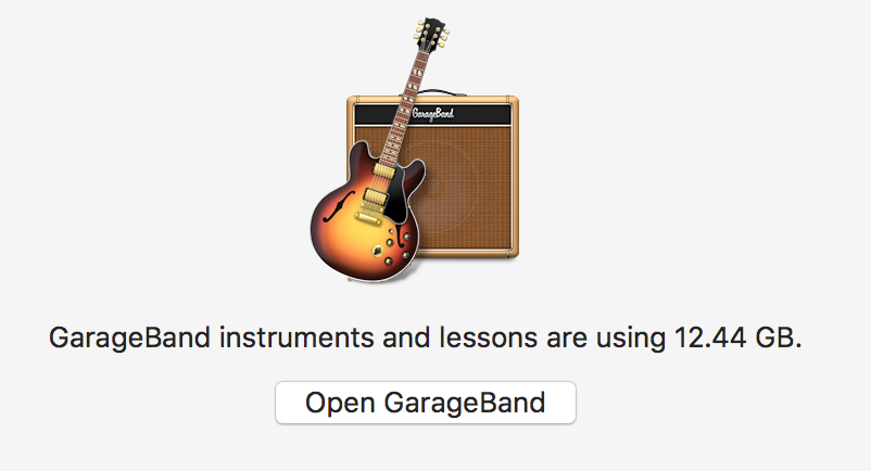 how to delete space from garageband
