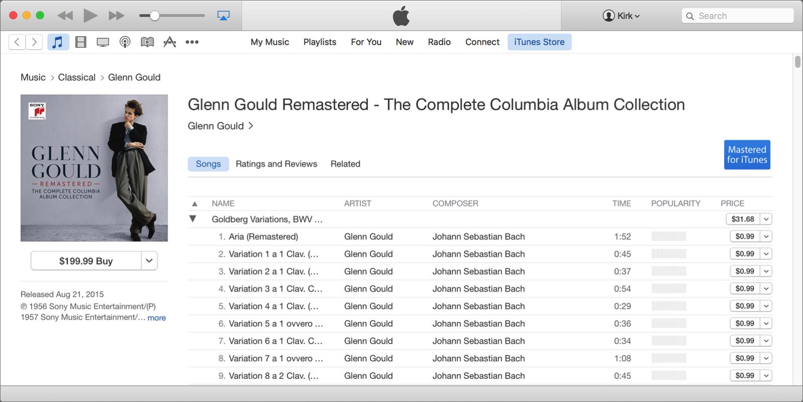 Glenn gould complete
