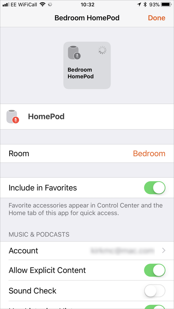 Homepod settings1