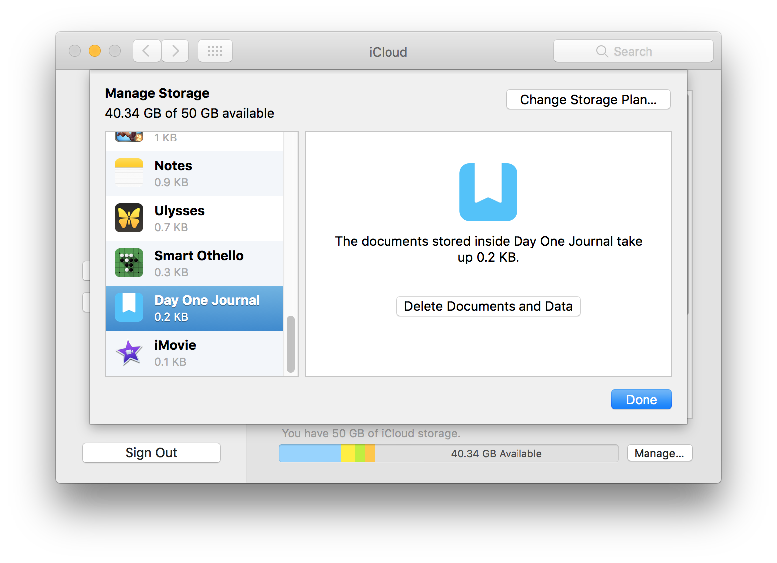 how to delete my icloud storage