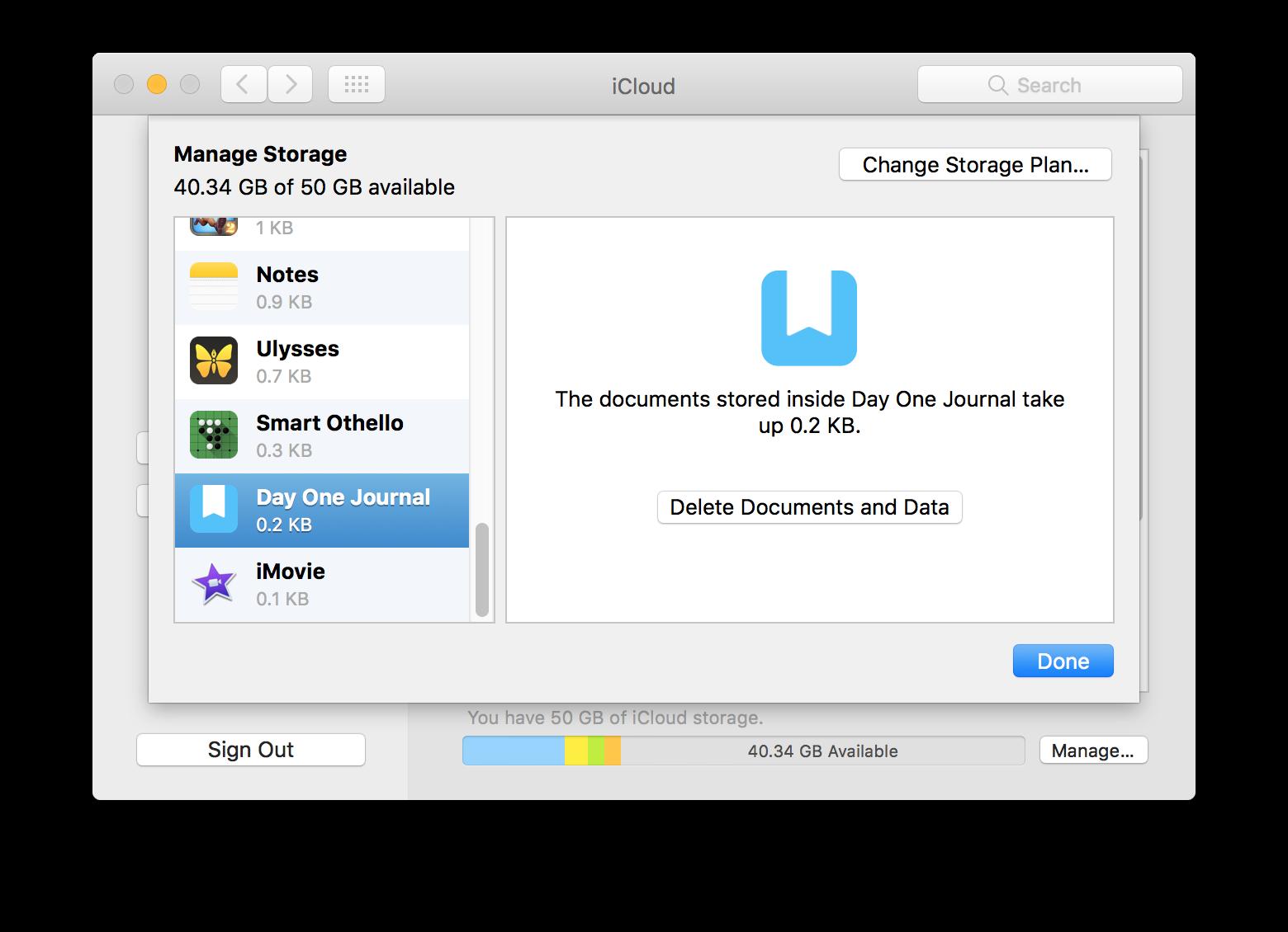 how to delete my icloud storage