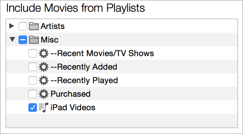 how to add movies to itunes without copying them