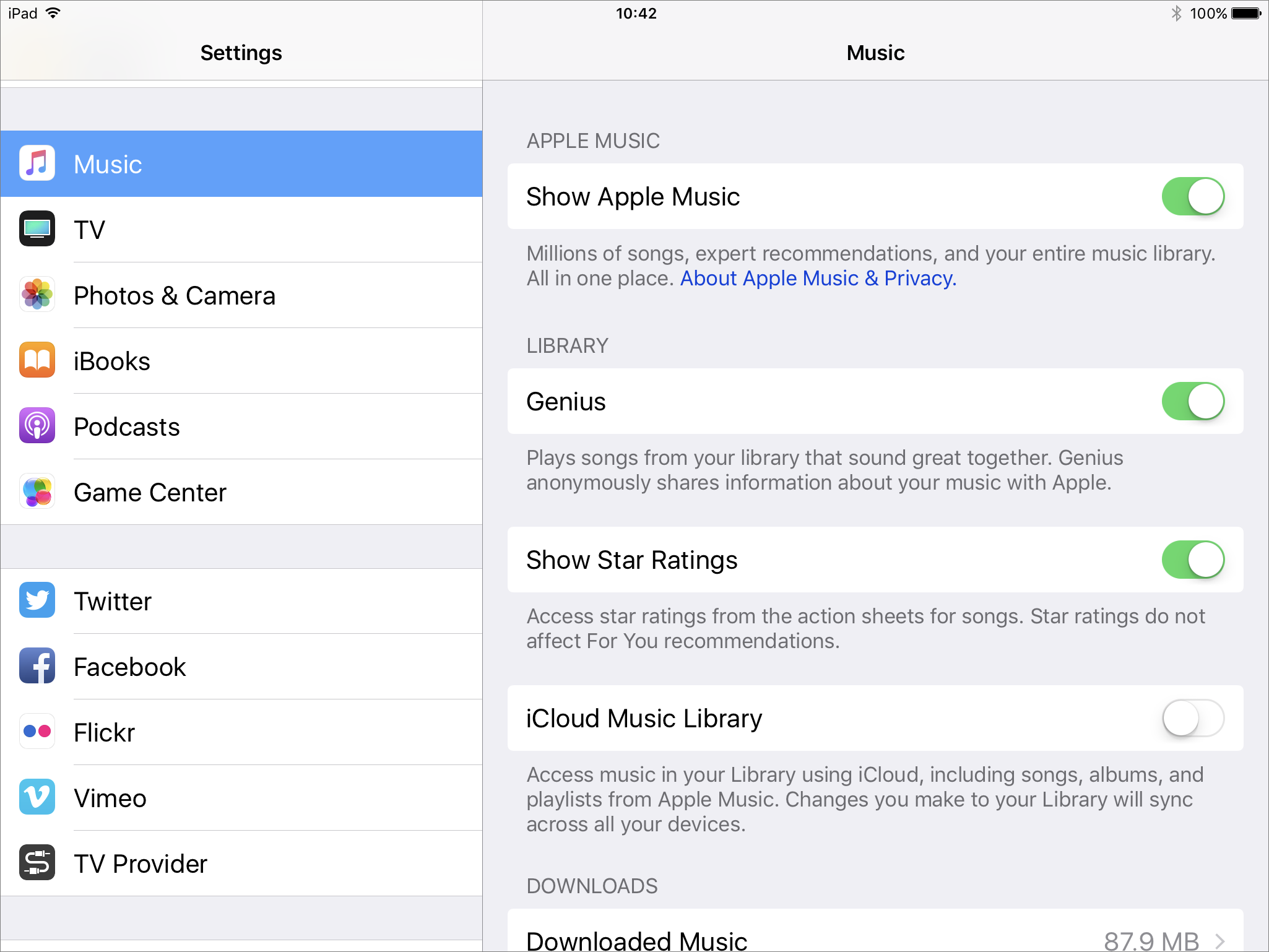 how to move itunes library to icloud