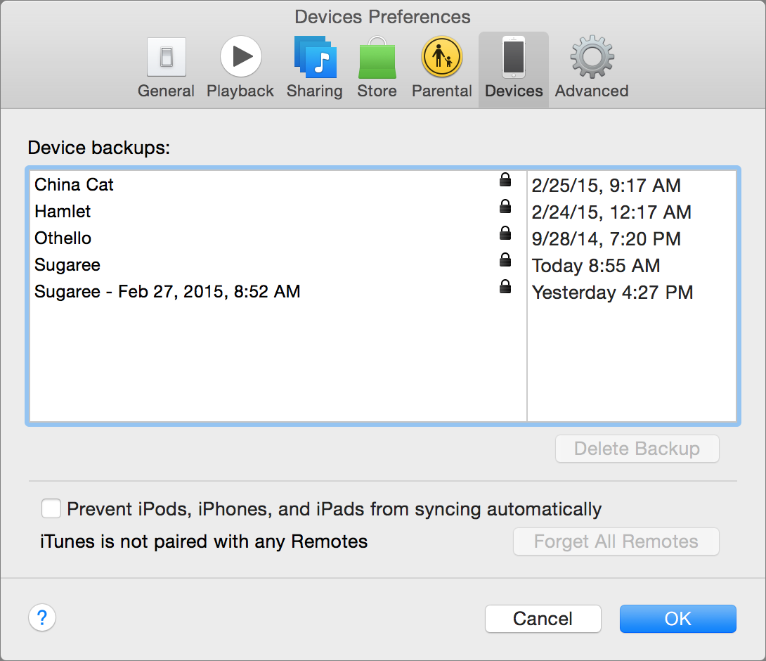 How To: Save Multiple iOS Device Backups in iTunes – Kirkville