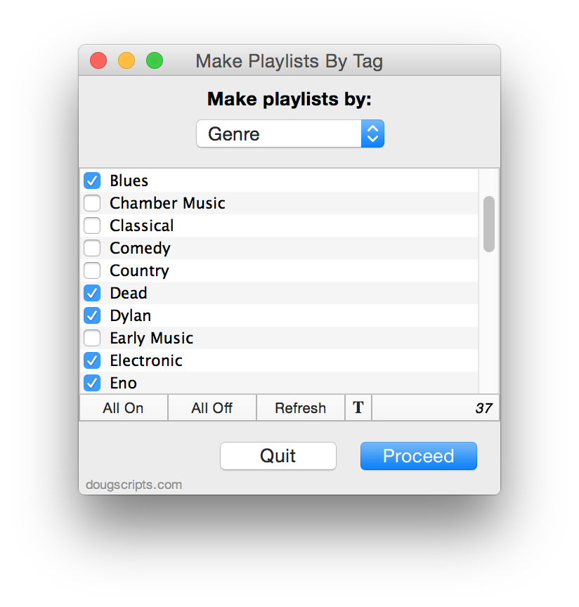 how to create playlist itunes