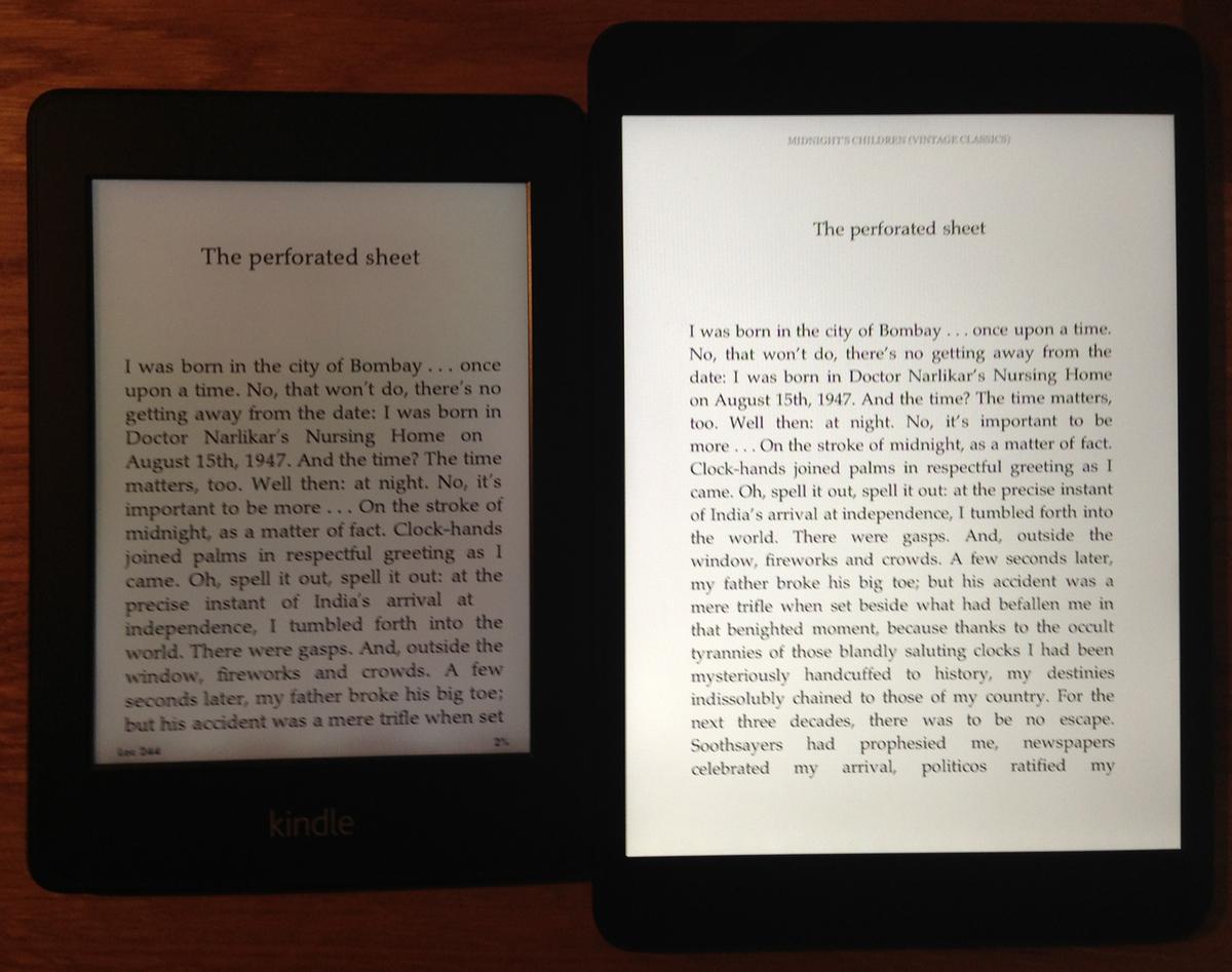 Kindle Vs Sony Reader: IPad Mini Vs. Kindle Paperwhite