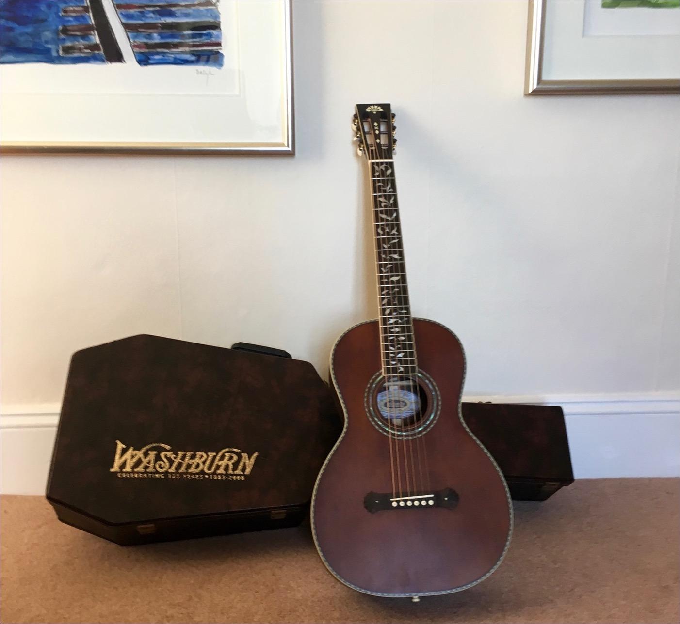 Kirkville My New Guitar Washburn R320swrk Parlor Guitar