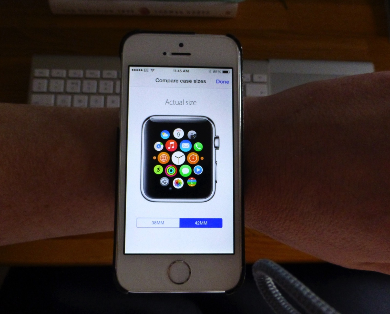 Try Out Apple Watch Sizes on Your Wrist | Kirkville