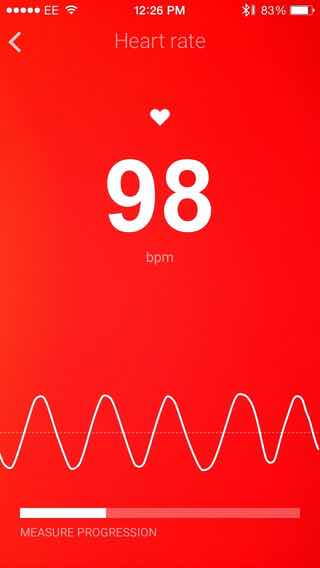 Withings heart rate