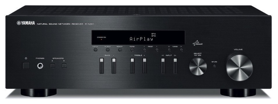 kirkville audio review yamaha r n301 network receiver. Black Bedroom Furniture Sets. Home Design Ideas