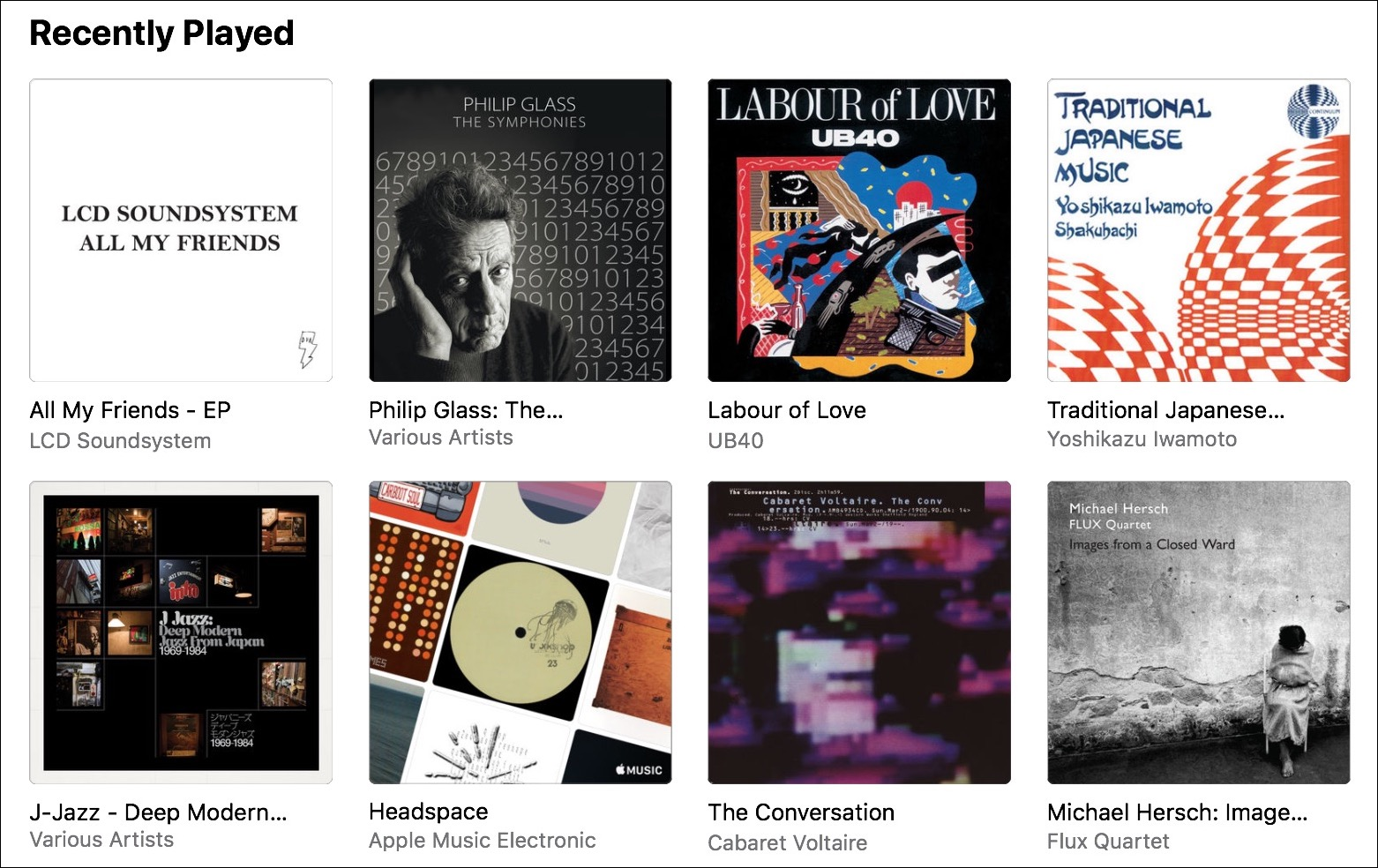 """Kirkville - Apple Music's """"Recently Played"""" Problem"""